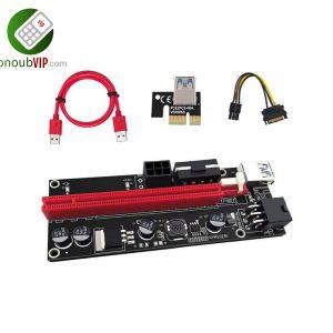 رایزر کارت گرافیک تبدیل PCI EXPRESS 1X به 16X مدل 009S مشکی