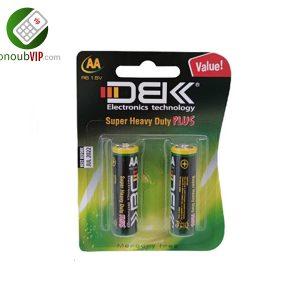 باتری نیم قلمی AA مدل DBK-R6 بسته دو عددی